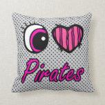 Piratas del amor del corazón I del ojo de Emo