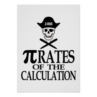 Piratas del cálculo poster