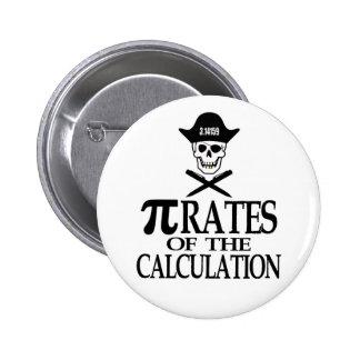 Piratas del cálculo pins
