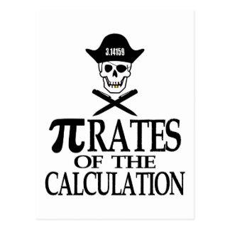 Piratas del cálculo postales