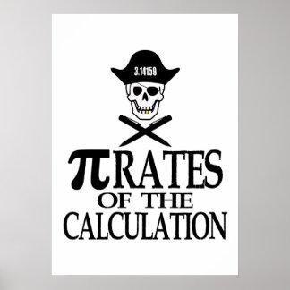 Piratas del cálculo póster