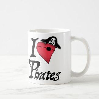 Piratas del corazón - taza