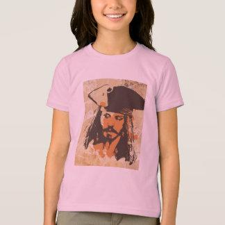 Piratas del gráfico del Caribe de Jack Sparrow Playera