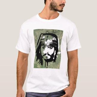 Piratas del Grunge de Jack Sparrow del Caribe Playera
