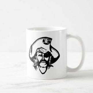 Piratas del pirata taza clásica