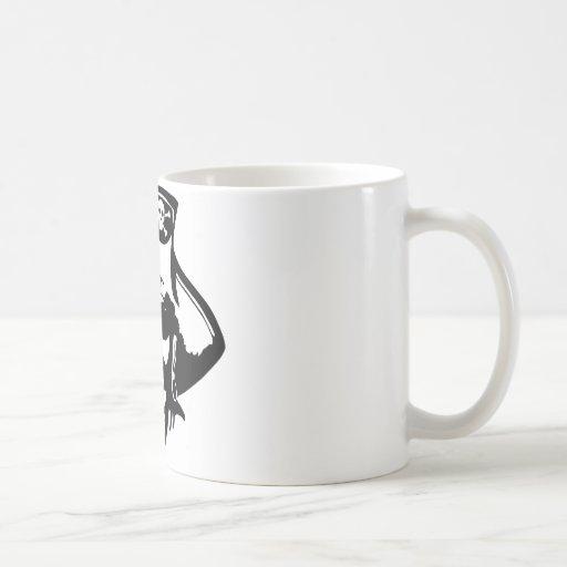 Piratas del pirata tazas de café