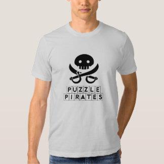 Piratas del rompecabezas remeras