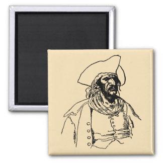 Piratas del vintage, Bucanero malvado de Howard Imán Cuadrado