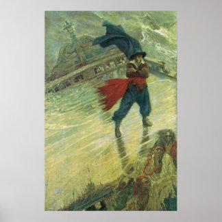 Piratas del vintage; El holandés errante, Howard P Impresiones