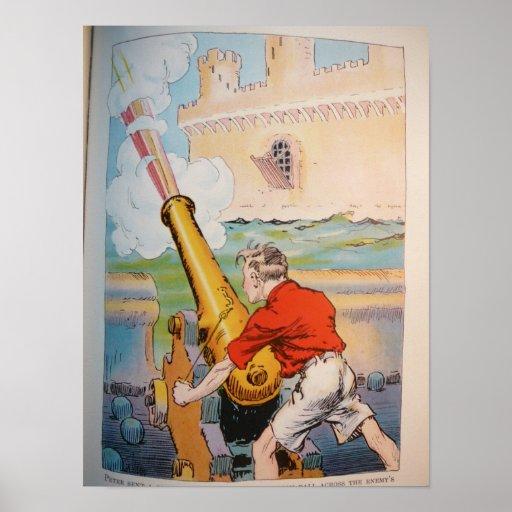 Piratas en la onza - 7 póster