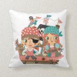 Piratas femeninos almohada
