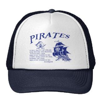 Piratas Gorra