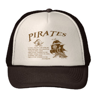 Piratas Gorras