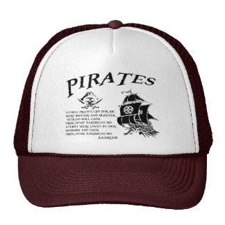 Piratas Gorros