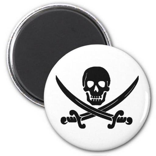 Piratas Imán Redondo 5 Cm