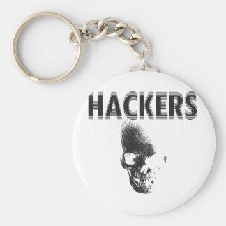 Piratas informáticos llavero personalizado