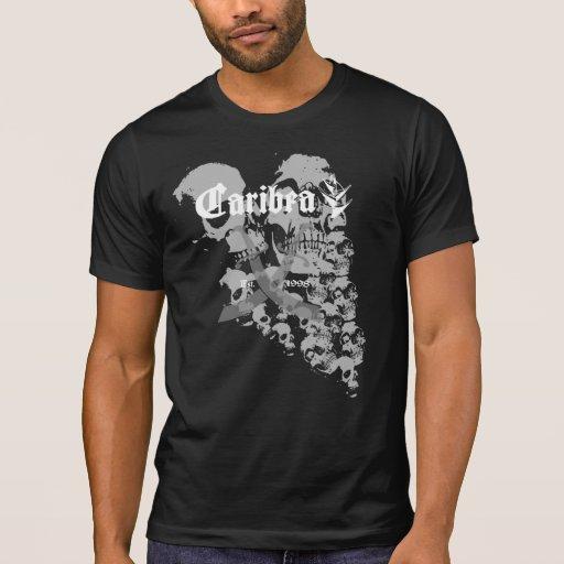 Piratas muertos del Caribe Camisetas