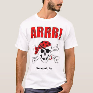 Piratas para el alquiler III Playera