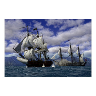 Piratas Póster
