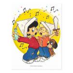 Piratas que cantan postales
