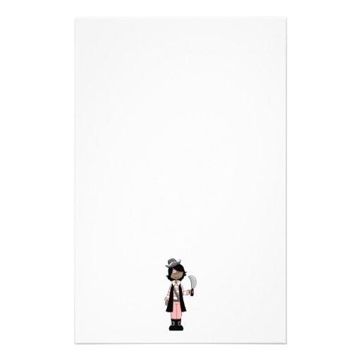 Piratas rosados · Chica #5 del pirata Papeleria De Diseño
