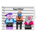 Piratas - tarjeta de Navidad