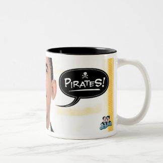 Piratas - taza