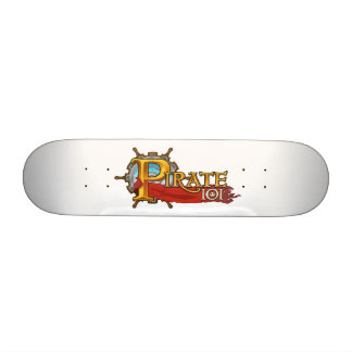 Pirate101 Logo Skate Decks