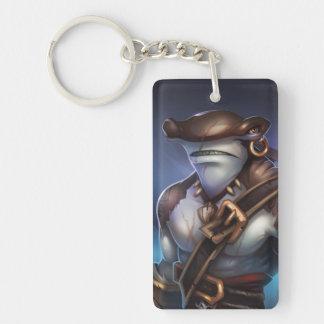 Pirate101 Mordecai Single-Sided Rectangular Acrylic Keychain