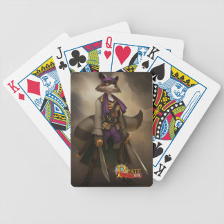 Pirate101 Morgan Lafitte Bicycle Playing Cards