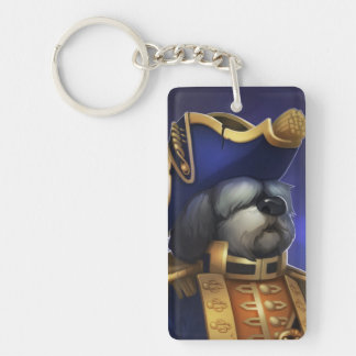 Pirate101 The Commodore Single-Sided Rectangular Acrylic Keychain