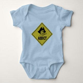 Pirate 1 baby bodysuit