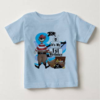 Pirate 1st Birthday T-shirts and Gifts