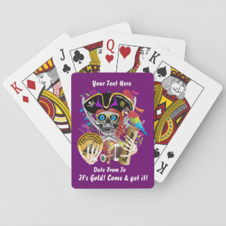 Pirate 2 Contraband Days View about Design Poker Cards