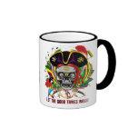Pirate-2, Who Da King V-1 Theme Party Coffee Mug
