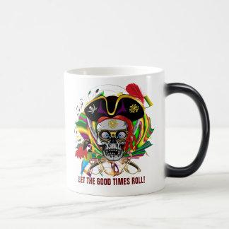 Pirate-2, Who Da King V-1 Theme Party Magic Mug