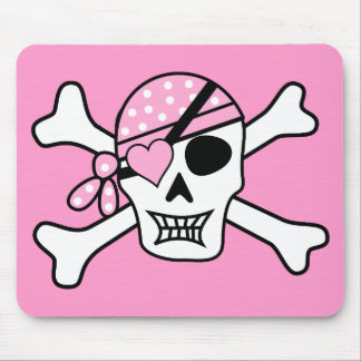 pirate-310038 pirate skull skull and crossbones ey mouse pad