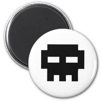 Pirate 8 Skull Bits Magnet