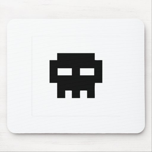 Pirate 8 Skull Bits Mouse Pad