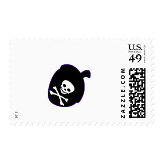Pirate Acorn Postage Stamps