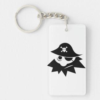 Pirate Acrylic Key Chains