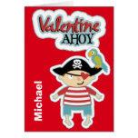 Pirate Ahoy Valentine Card
