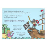 Pirate and Mermaid Invitations