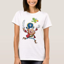 PIRATE AND PARROT CARTOON T-Shirt