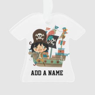 Pirate and Pirate Ship