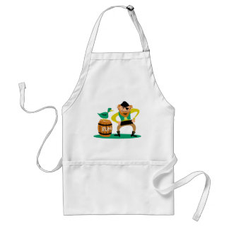 Pirate and Rum Adult Apron