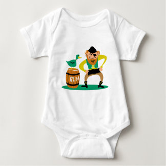 Pirate and Rum Infant Creeper