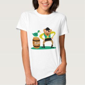 Pirate and Rum Tee Shirt