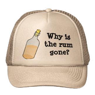 Pirate and Rum Trucker Hat