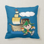 Pirate and Ship Pillows